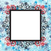 Christmas frame — Stok Vektör