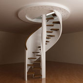 Round stair — Stock Photo