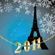 Royalty-Free Stock Vector Image: Paris. 2011