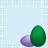 抽象的标题页。复活节贺卡. — 图库矢量图片