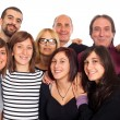 Caucasian Family, Group of — Stock Photo