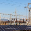 Stock Photo: Panels in Solar Power Station