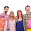 Young with Shopping Bags — Stock Photo #5071734