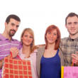 Young with Shopping Bags - Stock Photo