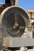 石材切割机 — 图库照片
