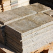 Granite tiles on pallet — Stock Photo #4272829