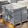 Granite tiles on pallet — Stock Photo #4272916