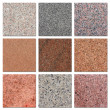 Samples of egyptian granite. - Stock Photo
