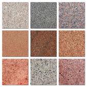Beispiele der ägyptischen granit. — Stockfoto