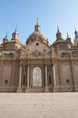 Bazilika: zaragoza — Stok fotoğraf