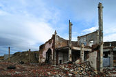 Ruins of factory — Stock Photo