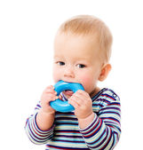 Baby chewing toy — Stock Photo