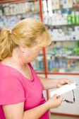 Pharmacy Receipt — Stock Photo