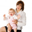 Mother with daughter — Stock Photo #4494307