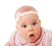 Six month girl — Stock Photo