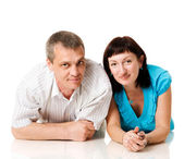 Middle age couple — Stock Photo