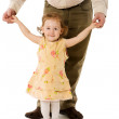 Father and daughter — Stock Photo #4862014