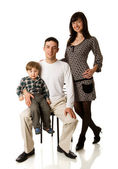 Rodinný portrét — Stock fotografie