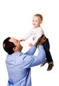 Pai feliz — Fotografia Stock