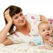 Mother with daughter — Stock Photo #5146803
