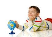 Chłopiec cztery lata — Zdjęcie stockowe
