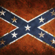Vintage Confederate Flag — Stock Photo