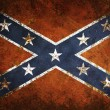 Vintage Confederate flag — Stockfoto