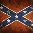Vintage Confederate Flag — Stock Photo
