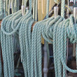 Stock Photo: Ship ropes