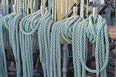 Ship ropes — Stock Photo