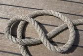 Cordes sur un pont — Photo