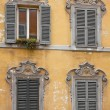 Foto Stock: Four Windows