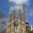 Cathedral in barcelona — Stock Photo