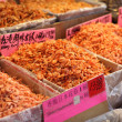 Royalty-Free Stock Photo: Dried shrimps in market