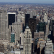Stock Photo: Aerial view of Manhattan