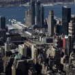 Aerial view of NYC — Stock Photo