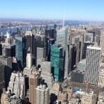 Manhattan in spring — Stock Photo