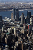 Aerial view of NYC — Stockfoto