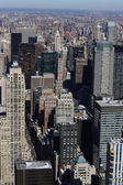 New york skyscrapers in midtown — Stock Photo