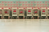 Shop-trolleys — Foto Stock