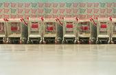Shop-trolleys — Stock Photo
