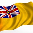 Niue flag — Stock Photo #4554831