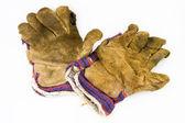 Old work gloves — Stock Photo