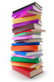 Färg böcker — Stockfoto