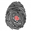 Finger print — Stock Vector #5116085