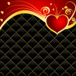 Stock Vector: Vector Valentines day background