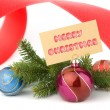 Stock Photo: Christmas concept