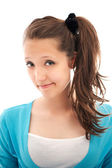Bright picture of happy teenage girl — Stock Photo
