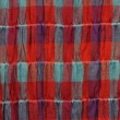 Royalty-Free Stock Photo: Red fabric checked