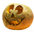 Halloween pumpkin isolated on white — Stock Photo #3968258